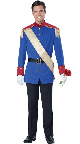 Storybook Prince Costume - Blue/Red