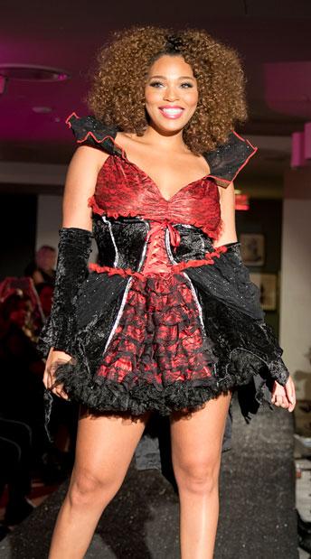 Plus Size Transylvanian Temptress Costume - as shown