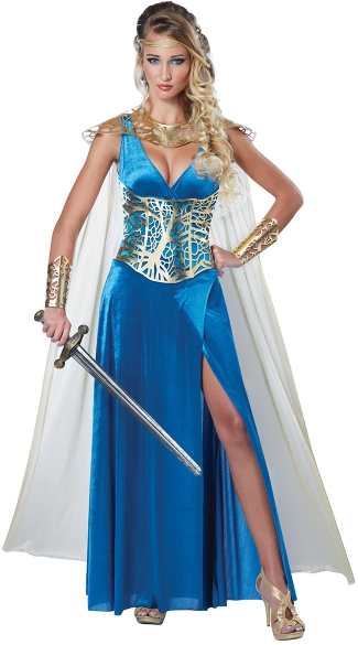 Sexy Warrior Queen Costume, Sexy Warrior Costume, Sexy Fighter Costume