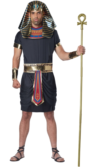 Pharaoh Costume, Men\'s Egyptian Costume, Men\'s King Tut Costume