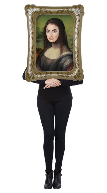 Mona Lisa Costume Kit - As Shown