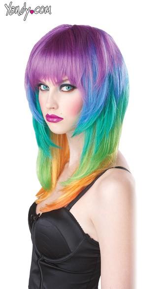 Kaleidoscope Wig - Multi-Color