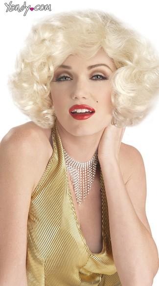 Sexy Marilyn Monroe Wig - Blonde