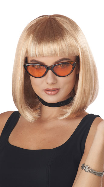 Pretty Woman Bob Wig - as shown