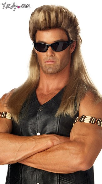 Dog the Bounty Hunter Wig - as shown