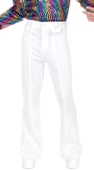 Men's Disco Pants - White