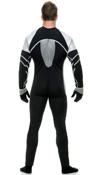 Men's Survivor Jumpsuit Costume - As Shown