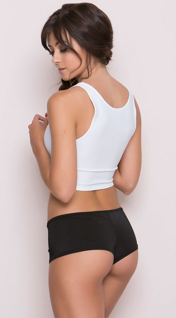 Basic Booty Shorts - Black