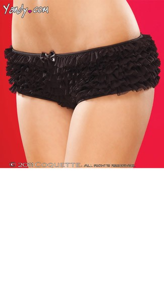 Plus Size Crotchless Panty, Plus Open Crotch Panty