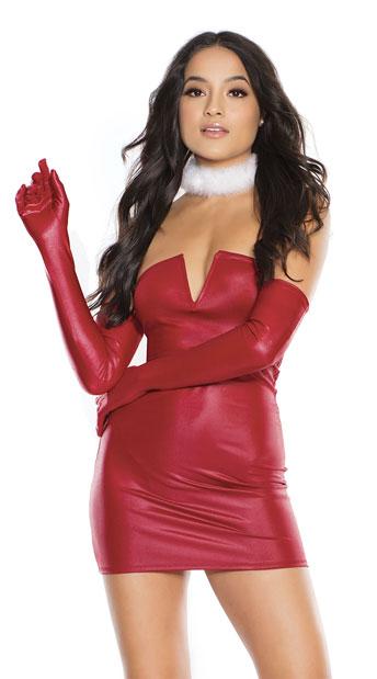 Wine Me Up Mini Dress - Merlot