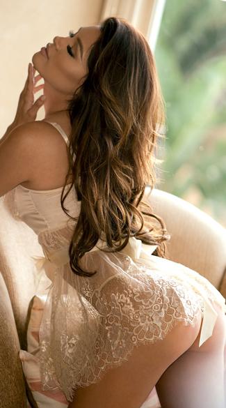 Elegance Babydoll Set - Ivory