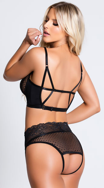 Bad Intentions Bra Set - Black