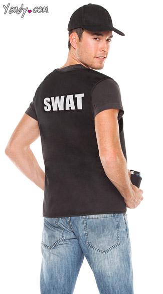 Men's Swat Commander Vest - Black