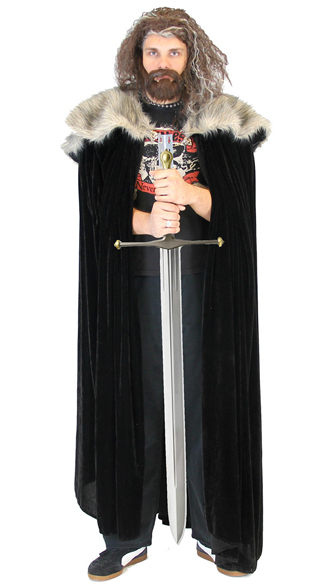 Medieval Cloak - As Shown