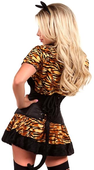 Lavish Tigress Costume - As Shown