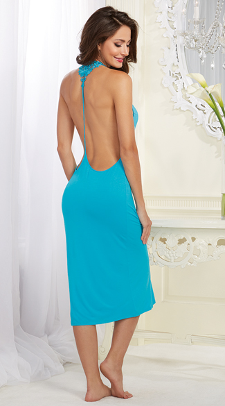 Soft Turquoise Gown - as shown