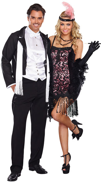 Gatsby Party Guests S Costume Cotton Club Cutie Fler Y Pink