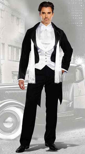 Gatsbyu0026#39;s Party Costume Gatsby costume Gatsby halloween costume sexy Gatsby costume mens ...