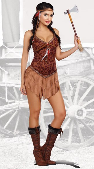 Hot On The Hunt Costume - As Shown