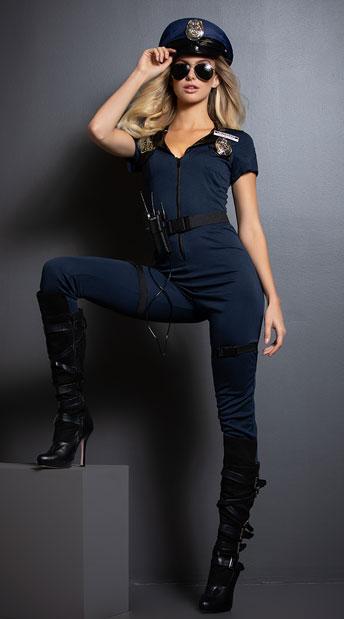 Lieutenant Ivana Misbehave Costume - As Shown