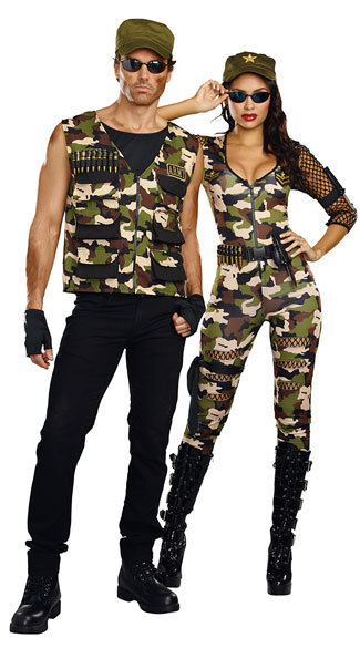 Friendly Fire Couples Costume, Friendly Fire Babe Costume, Sexy Army Costume, Sexy Camo Costume, Men\'s Friendly Fire Army Costume, men\'s army costume, sexy men\'s army costume, men\'s military costume, sexy men\'s military costume