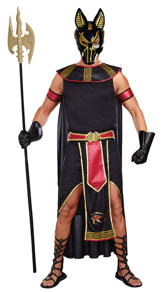 Men\'s Anubis, God Of The Underworld Costume, men\'s Anubis costume, sexy men\'s Anubis costume, men\'s Egyptian costume, sexy men\'s Egyptian costume, men\'s underworld god costume