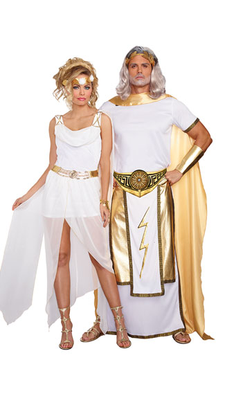 Greek Gods Couples Costume, It's Greek To Me Costume ...