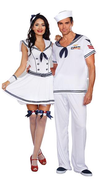 Sexy Sailor Couple Costume