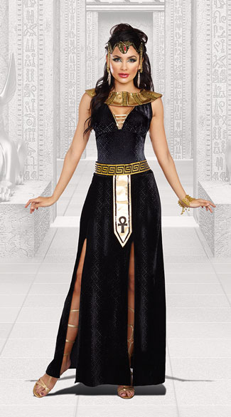 Exquisite Cleopatra Costume - As Shown