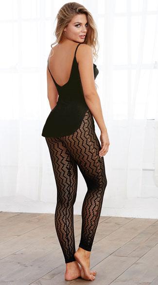 ... Cozy Cami and Leggings Pajama Set - Black 9c3276994