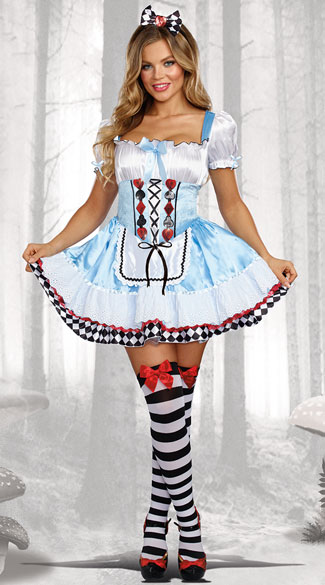 Beyond Wonderland Costume - As Shown