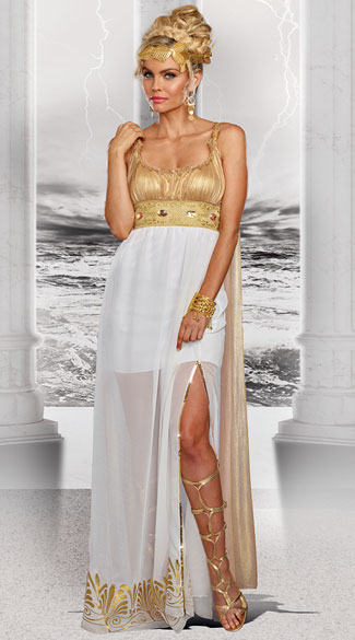 Goddess Athena Costume - As Shown