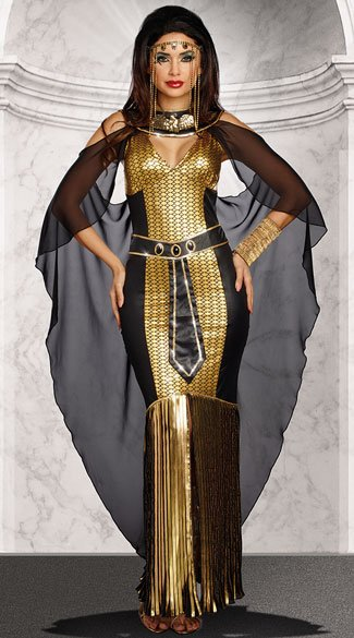Egyptian Queen Costume - As Shown