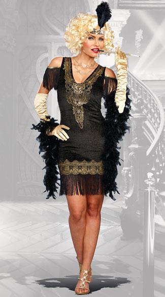 Sexy 1920s Flapper Dresses