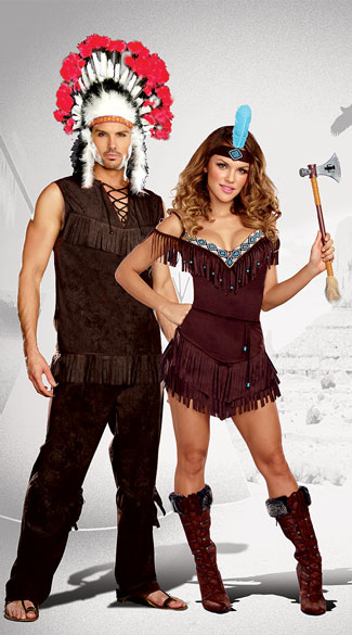 Tribal Royalty Couples Costume  sc 1 st  Yandy & Tribal Royalty Couples Costume Tribal Princess Costume Sexy Native ...