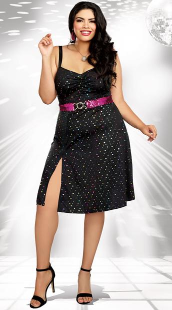 f401f5f2e03ff Plus Size Disco Diva Costume - As Shown ...