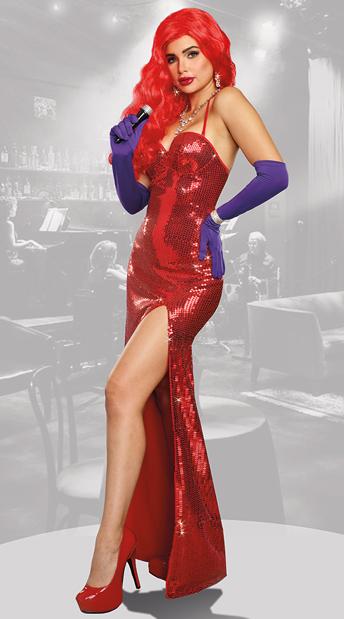 Sexy Starlet Costume Jessica Rabbit Costume Yandy Com