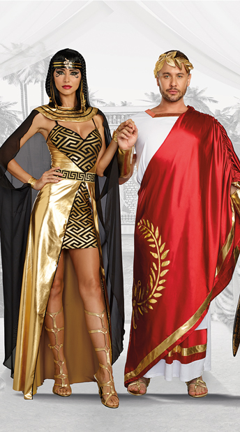 Historical Lovers Couples Costume - as shown