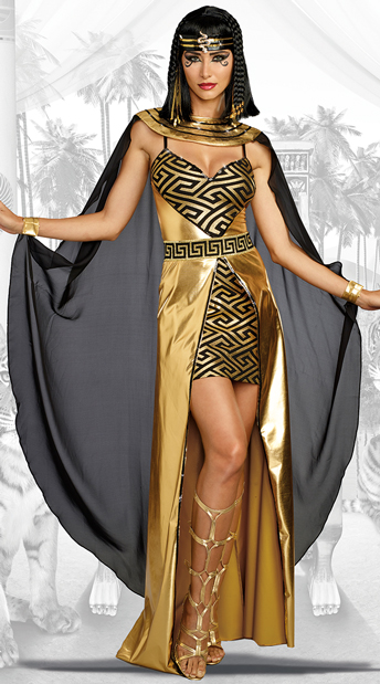 Golden Cleopatra Costume   As Shown ...