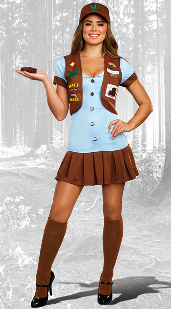 Half-Baked Scout Costume - As Shown