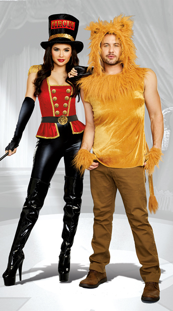 Under the Big Top Couples Costume - as shown