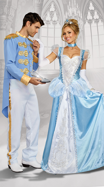 Charming Fairytale Couples Costume - as shown