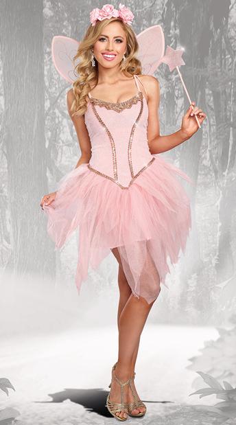 sc 1 st  Yandy & Rose Fairy Costume Fairy Queen Costume- Yandy.com