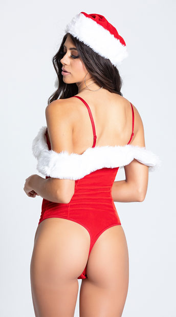 Festive Santa Teddy Set - Ruby