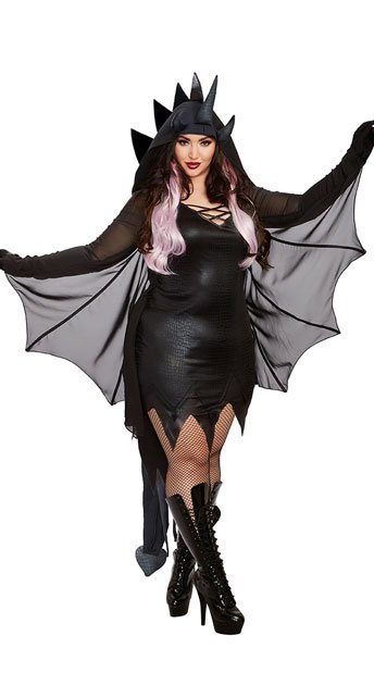 Plus Size Magic Dragon Costume, plus size sexy dragon costume - Yandy.com