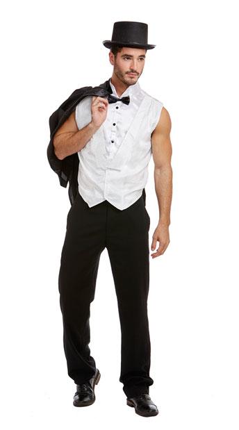 Men's Millionaire Extraordinaire Costume, Men's 1920's Gatsby Costume - Yandy.com