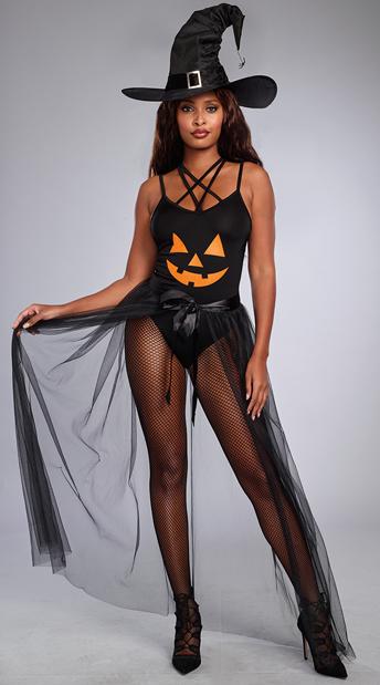 pumpkin patch witch costume