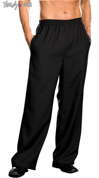 Mens Costume Pants - Black