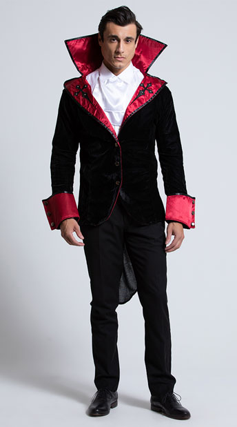 Sexy male vampire costume
