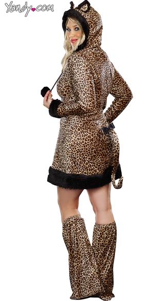 Plus Size Cheetah-Luscious Costume - Leopard